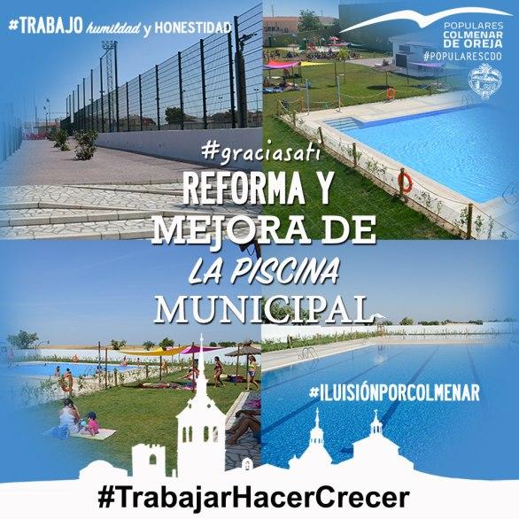 Reforma Piscina Municipal